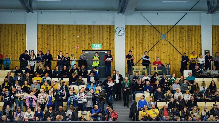 Handbollspublik i Eslöv. Foto: Maja Suslin/TT