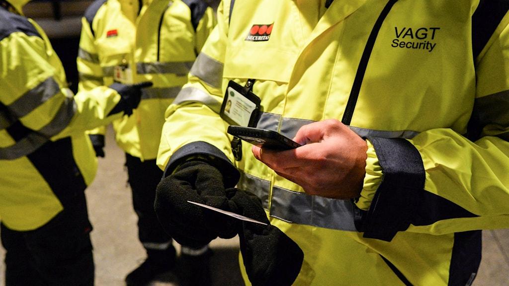 Id-kontroll på Köpenhamns flygplats Kastrup. Foto: Johan Nilsson/TT