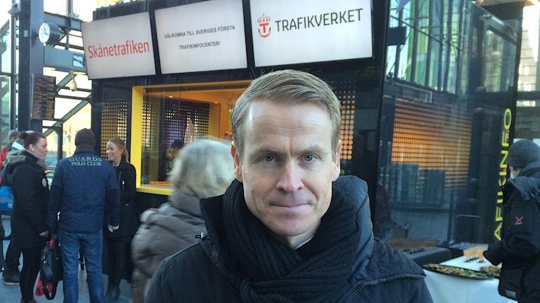 Linus Eriksson. Foto: Petra Haupt/Sveriges Radio