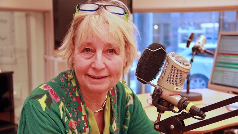Sanne Vils undervisar förskollärare på Malmö högskola. Foto: Jenny Cederbom/Sveriges Radio
