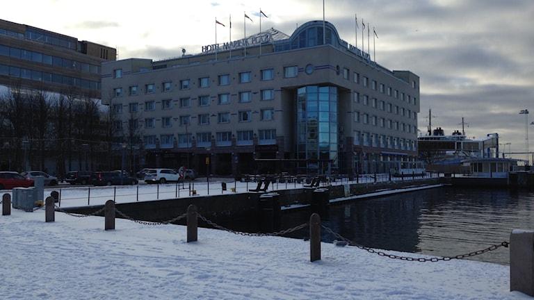 Hotell Marina Plaza i Helsingborg.
