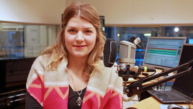 Sofie Gudmundsson är en av deltagarna i tv-programmet Sveriges Mästerkock. Foto: Jenny Cederbom/Sveriges Radio