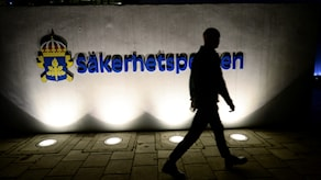 Säpo, der schwedische Geheimdienst oder die Sicherheitspolizei, Säkerhetspolisen Säpo. Foto: Fredrik Sandberg/TT