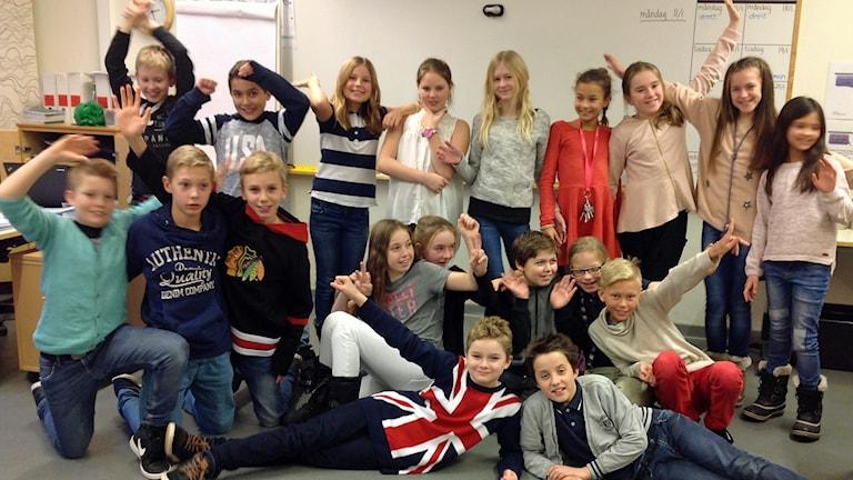 Strandskolan 5B i Klagshamn