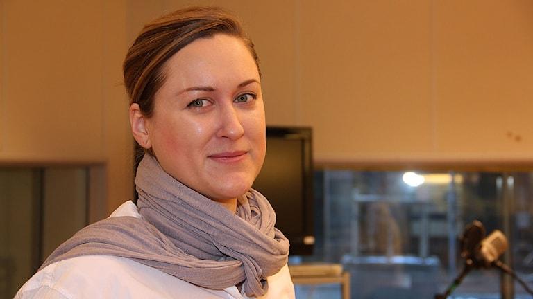 Kajsa Westman. Foto: Lars Ekman/Sveriges Radio