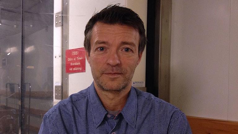 Håkan Jönsson. Foto: Jonathan Hansen/Sveriges Radio