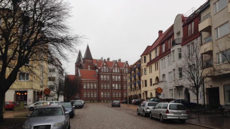 Skolallén i Landskrona.