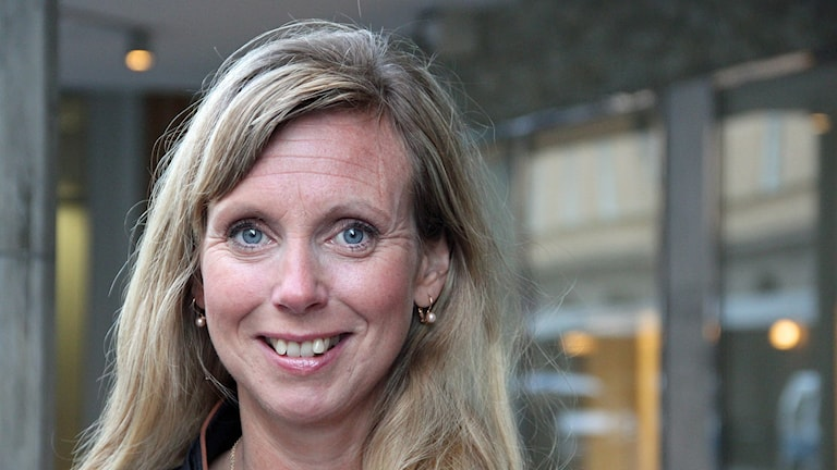 Frida Eek, stressforskare vid Lunds universitet. Foto: Hans Zillén/Sveriges Radio