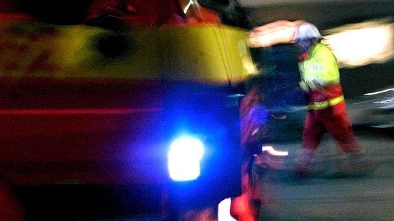 En man har omkommit vid en brand i en fastighet i Hjärup i Staffanstorps kommun. Arkivbild.