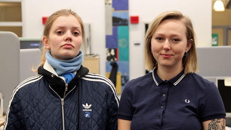 Thelma Ernst och Isabelle Giordano