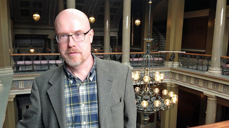 Tim Ekberg, planeringschef vid Lunds universitet. Foto: Daniel Persson/Sveriges Radio