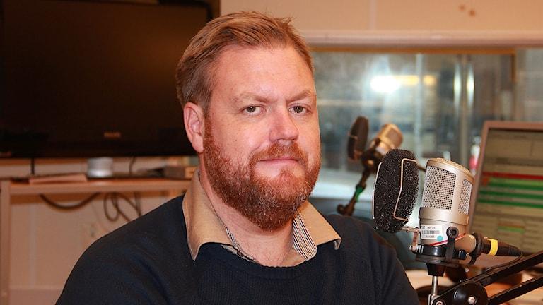 Kristoffer Appelquist. Foto: Lars Ekman/Sveriges Radio