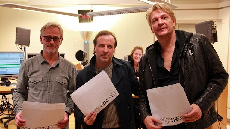 Uno Svenningsson, Patrik Isaksson & Tommy Nilsson