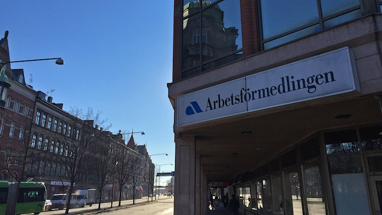 Arbetsförmedlingen. Foto: Anton Kalm/Sveriges Radio