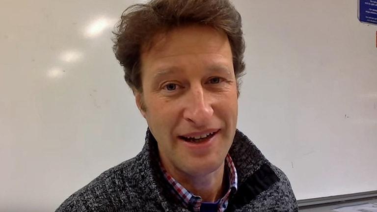 Magnus Ehinger, lärare i kemi och biologi på Polhemskolan i Lund.