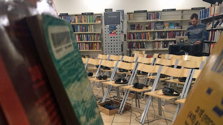 Teater på Rosengårdsbiblioteket