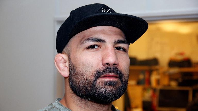 """Hamid """"Akira"""" Corassani, Lundafödd MMA-pionjär som slutat som aktiv fighter. Foto: Hans Zillén/Sveriges Radio"""