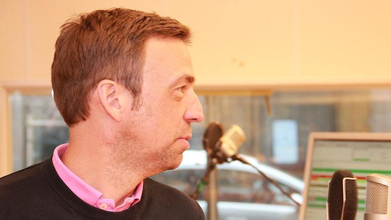 Allan Kuhn, MFF:s huvudtränare. Foto: Lars Ekman/Sveriges Radio