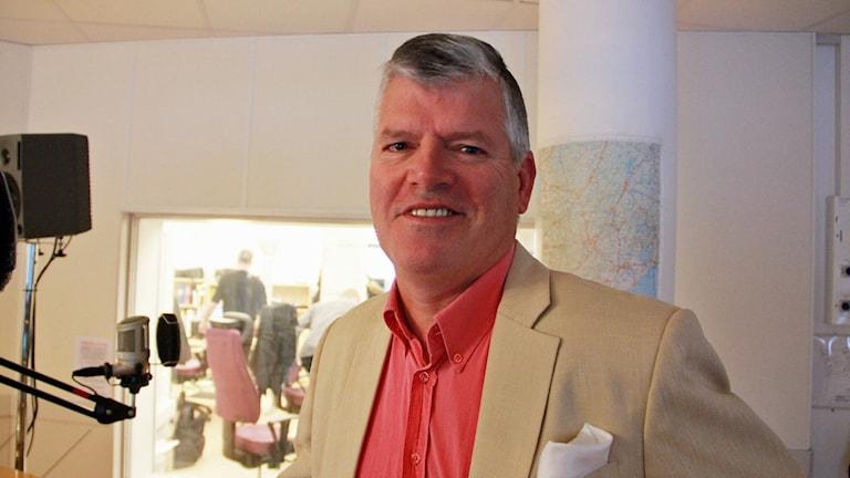Kocken Svante Aspelin. Petra Haupt/Sveriges Radio