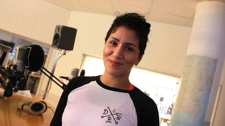 Pannie Kianzad. Foto: Felicia Frithiof/Sveriges Radio