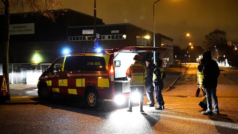 Brand i fritidsgård i Malmö