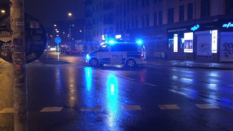 Smach and grab på Bergsgatan i Malmö