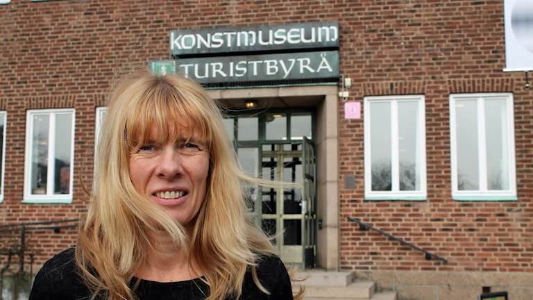 Ýrr Jónasdóttir museichef Ystads konstmuseum