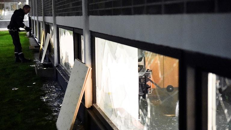 Träningslokal attackerad i Lund