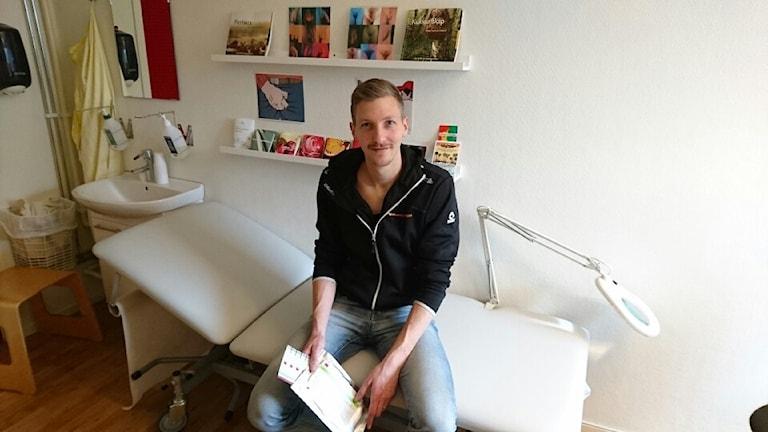 Anders Lindbäck, sjuksköterska och initiativtagare till projektet. Foto: Privat
