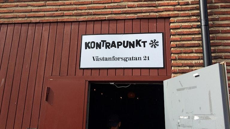 Föreningen Kontrapunkt får inte ha övernattning i sina lokaler. Foto: Odd Clausen/Sveriges Radio.