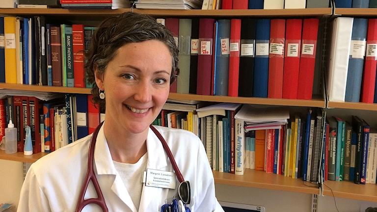Margrét Leósdóttir, hjärtläkare på SUS.