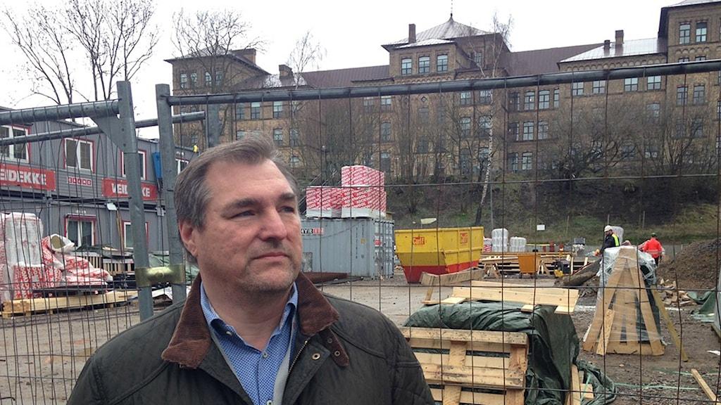 Kaj Persson, ombudsman på Målarförbundet i södra Sverige.