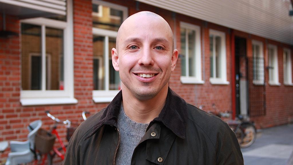 Federico Fagnani. Foto: Sandra Martinsson/ Sveriges Radio