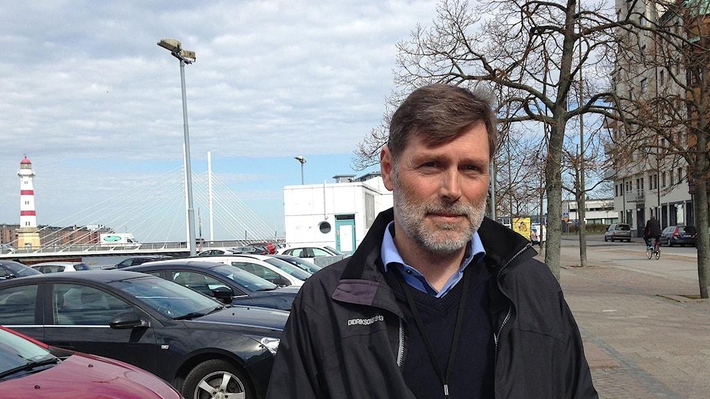 Anders Gärdsmark, regionchef Sveriges byggnadsindustrier.