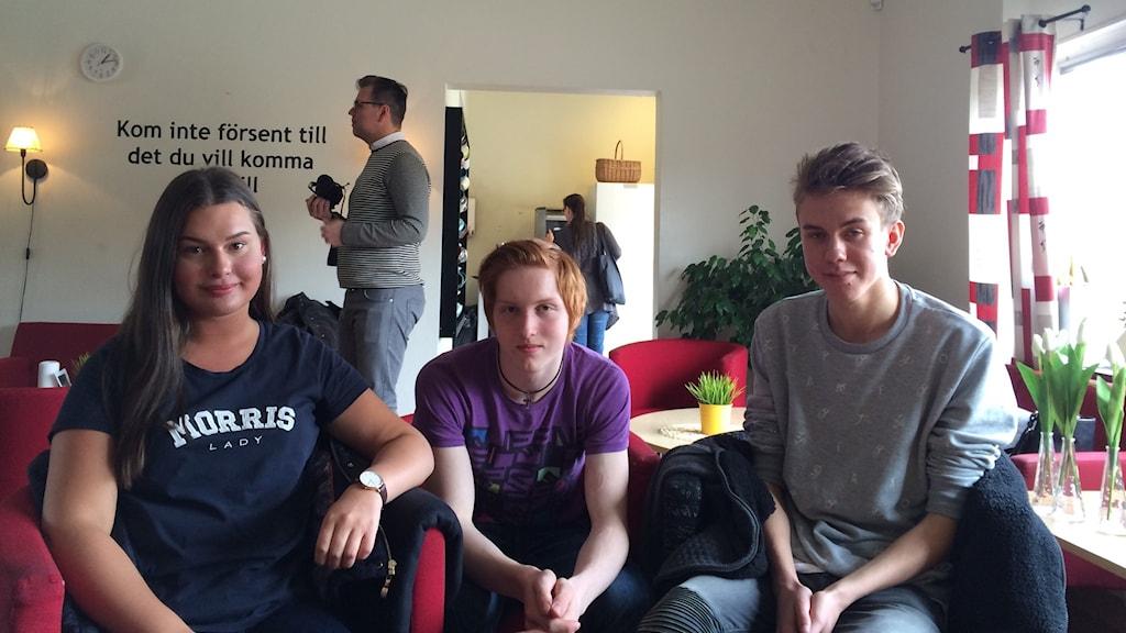 Elin Manglind, Anders Kullenberg och Wiktor Gygier har alla i någon form varit drabbade av kränkningar på nätet.