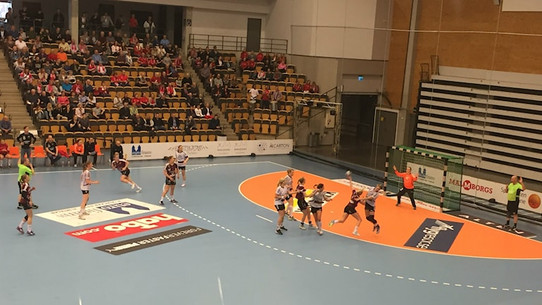 Lugi vann med 26-20 i den avgörnade matchen i kvartsfinalen mot H65 Höör.