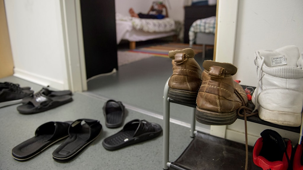 Flyktingboende för ensamkommande. Foto: Jessica Gow/TT.