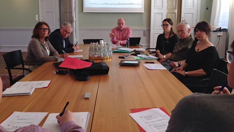 Socialdemokraterna och Miljöpartiet offentligör ny budget. Foto: Daniel Persson/Sveriges Radio
