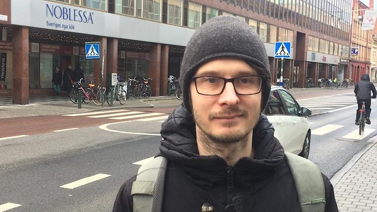 Manne Gerell, doktorand i kriminologi på Malmö högskola.