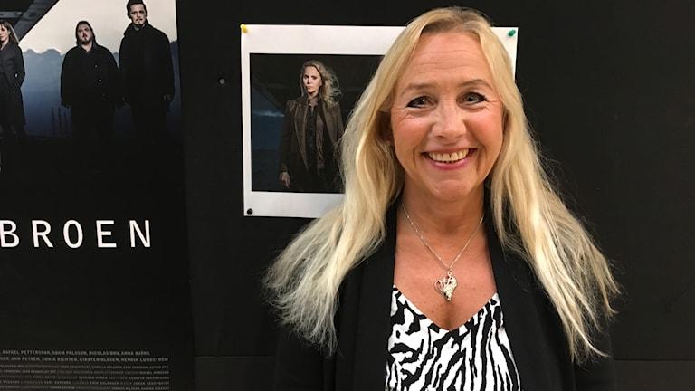 Anita Strömberg, sökande statist.
