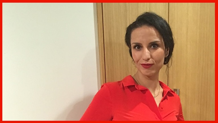 Rima Ali i Malmö är med i P4 Malmöhus publiknätverk. Foto: Sofie Ericsson/Sveriges Radio.