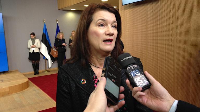 EU- och handelsminister Ann Linde