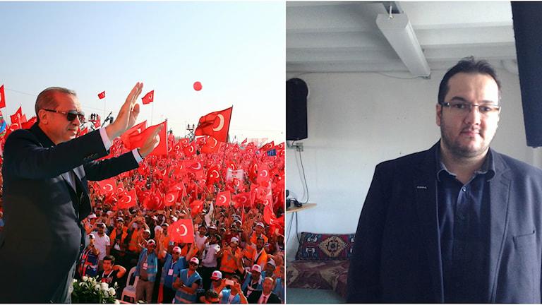 President Erdogan och Bilal Karabudak
