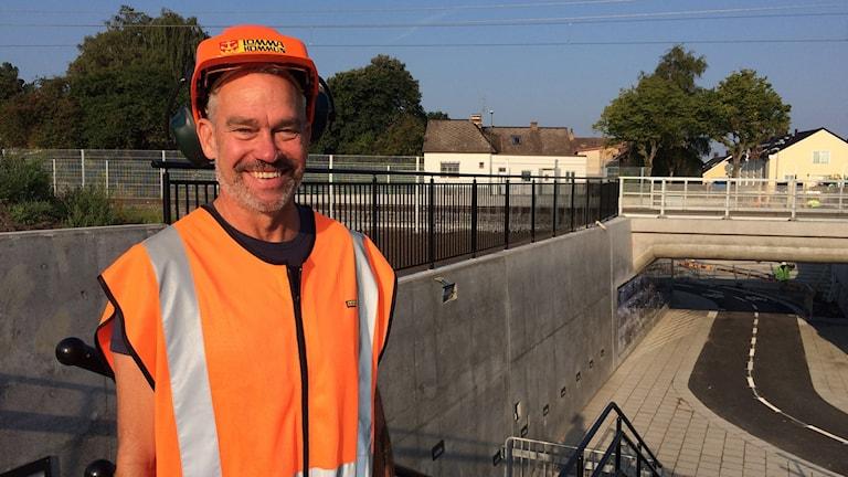 Peter Axelsson - projektledare för tunneln.