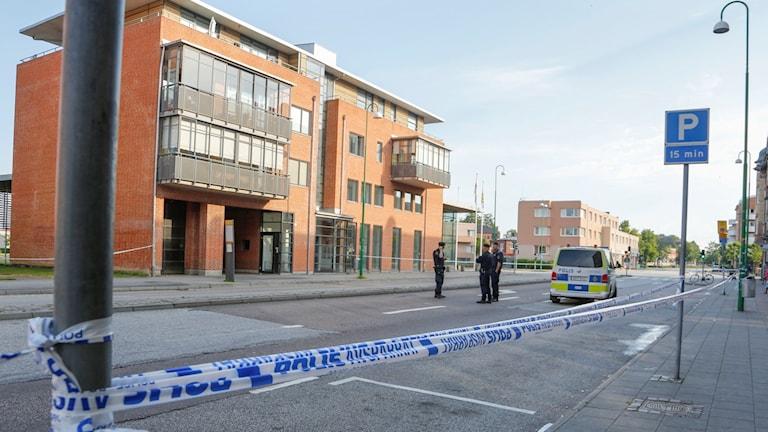 Arlöv vid en tidigare polisinsats. Foto: Stig-Åke Jönsson/TT.