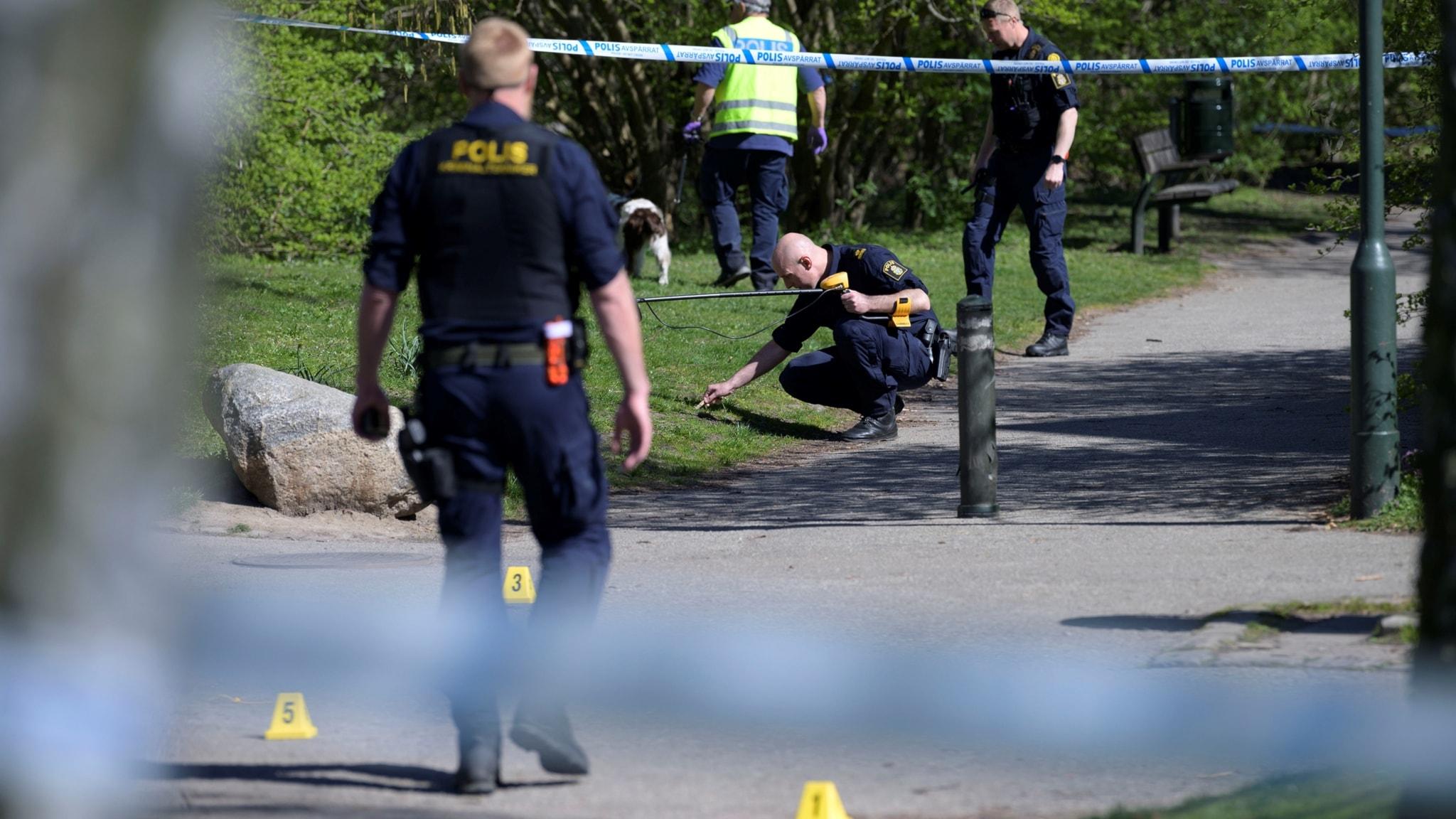 77e4d6dc9014 Knivbeväpnad man skjuten i benet av polis - P4 Malmöhus | Sveriges Radio