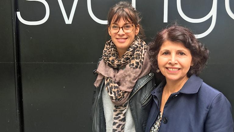 Linda Stark och Farideh Arman har arbetat fram boken Jag är barn.