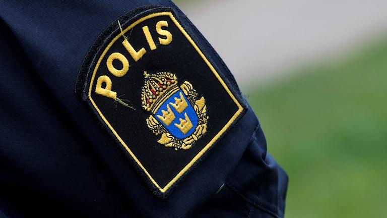 Genrebild polis.