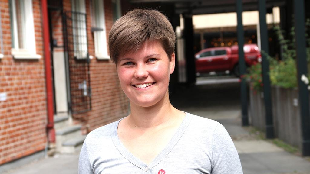 Hanna Gunnarsson, vänsterpartistisk kommunpolitiker i Lund