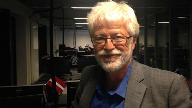 Anders Sannerstedt, statsvetare vid Lunds universitet. Foto: David Rasmusson/Sveriges Radio